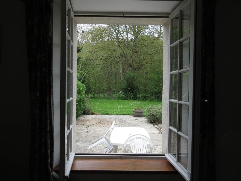 vue interieure sur jardin
